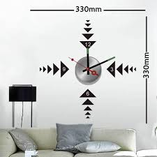Decorative Wall Clocks For Living Room Compare Prices On Metal Wall Clock Art Online Shopping Buy Low