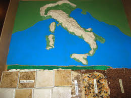 Italy Road Map by Solagratiamom Making Roman Roads And Salt Dough Map Of Italy Cc