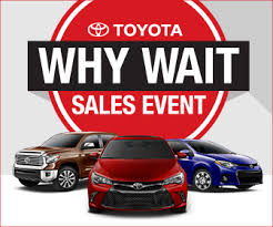 black friday car sales why wait sales event northhollywoodtoyota com