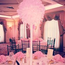 Where To Buy Ostrich Feathers For Centerpieces by Feather Centerpiece With Draped Pearls Hanging Cyrstals Tall