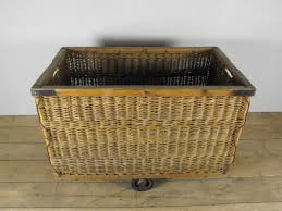 laundry basket on wheels bed bath and beyond antique wire