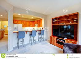 Cabinet Tv Design Great Design For House With An Open Wall Between Kitchen And Li