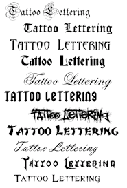 cute image font tattoo and lettering tattoos design