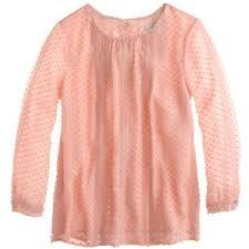 swiss dot blouse j crew lace trim swiss dot top polyvore