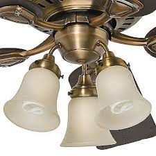 antique brass ceiling fan hunter 46 in antique brass ceiling fan with light kit 99 95
