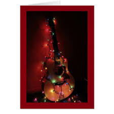 guitar cards greeting photo cards zazzle