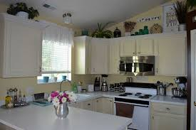 Ideas For Space Above Kitchen Cabinets How To Use Space Above Kitchen Cabinets Kitchen Decoration
