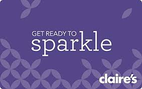 claires gift card s gift cards redemption online only e mail