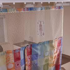 standard eze swap snap on hospital privacy curtain mesh