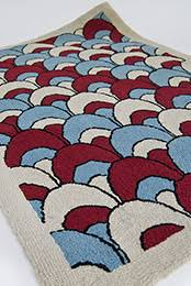 Red White And Blue Rugs Antique And Vintage Hooked Rugs
