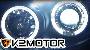 k2 motor installation halo led projector headlights wiring