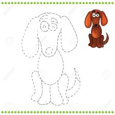coloring pages nice dog connect dots clifford big coloring