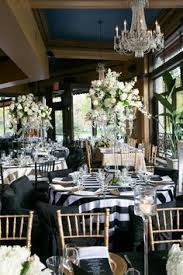 party rental minneapolis beautifully bold black and gold wedding at cafe bar lurcat in