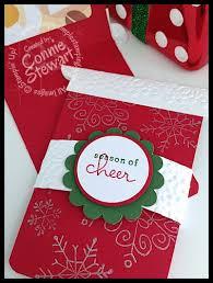 starbucks christmas gift cards starbucks gift card holder video tutorial simply simple stamping