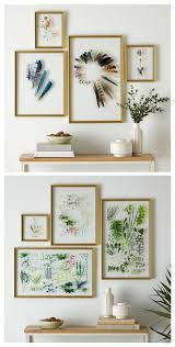Gallery Home Decor Inspiration Craft Idea For A Botanical Gallery Wall So Lovely