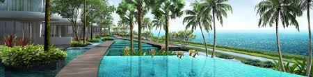 sentosa cove luxury home singapore waterfront bungalow villas