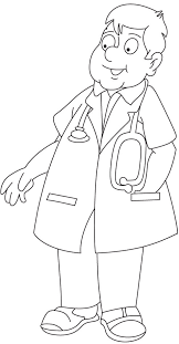 coloring pages coloring page doctor tools life pages coloring