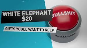 white elephant gifts 20 dollar great white elephant gift