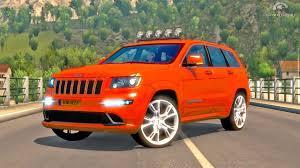 orange jeep cherokee jeep grand cherokee ets2 euro truck simulator 2 youtube