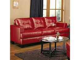 Coaster Leather Sofa Samuel Contemporary Leather Sofa