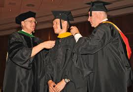 doctoral graduation gown academic regalia midwestern