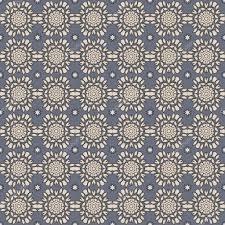 seamless blue u0026 grey damask wallpaper pattern u2014 stock photo