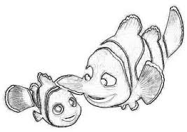 finding nemo sketches sketch coloring page
