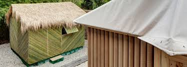 shigeru ban u0027s disaster relief structures take spotlight in new
