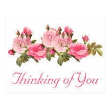 thinking of you flowers custom thinking of you flowers postcards zazzle ca