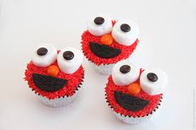 elmo cupcakes elmo cupcakes you you want one make it and it