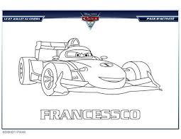 Coloriages coloriage gratuit francesco cars 2  frhellokidscom