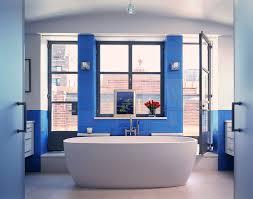 Blue Glass Tile Bathroom - glass tiles for bathroom bathroom contemporary with bathtub blue