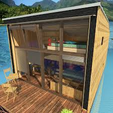 home designs plans floating house plans