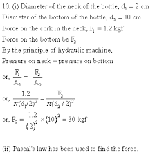 selina icse solutions for class 9 physics u2013 pressure in fluids and