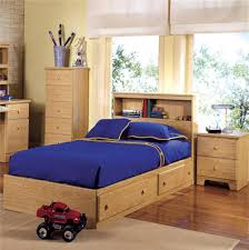 Twin Bed Frame With Drawers And Headboard by Interior Incredible Boy Bedroom Decoration Ideas Using Light Oak