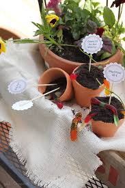 dirt pudding cups and free printable inspired