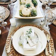 16 beautifully simple thanksgiving table setting ideas at home