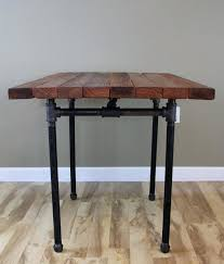 reclaimed wood pub table sets reclaimed wood bar table medium size of wood bar table ideas inside