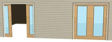 Exterior Pocket Sliding Glass Doors Exterior Pocket Doors Attractive Door Patio Contemporary With In