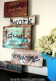 Home Decor With Wood Pallets 100 Uses For Reclaimed Pallets Pallets Board And Inspiration