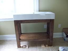 Industrial Bathroom Vanity by Bathroom Vanity 3 Homemade Bathroom Vanity Tsc