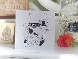21 birthday card design handmade birthday card 21st pontoon skull tattoo vickilicious