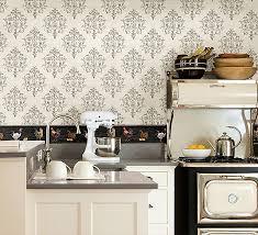 wallpaper border for kitchen pretty kitchen wallpaper borders