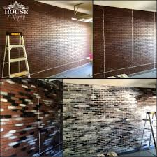 Home Depot Wall Panels Interior by Brick Contemporary Eclectic Faux Brick Panels Faux Finish