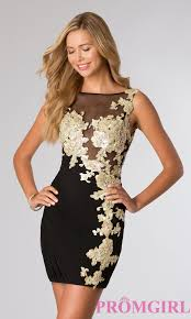 black and gold dress black and gold cocktail dress from jvn by jovani