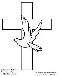 dove cross wood working free design patterns