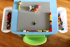 Ikea Play Table by Santa U0027s Got Diy Skills Ikea Table Turned Lego Table Simple Stylings
