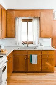vintage kitchen cabinet makeover our budget friendly mid century kitchen makeover