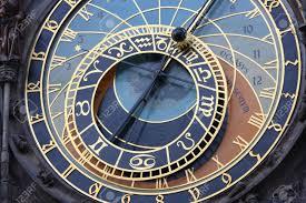 a astronomical clock in prague czech republic in the old town