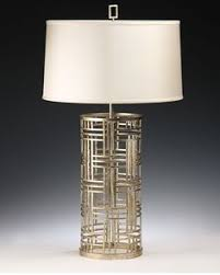 Iron Table Lamps Hand Wrought Iron Table Lamp With Antique Gold Leaf Finish And